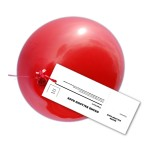 Balloon Race Label