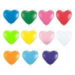 12″ Heart Latex Balloons
