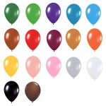 9″ Metallic Latex Balloons