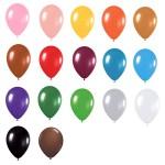 9″ Standard Latex Balloons