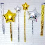 Shimmering Balloon Tassel