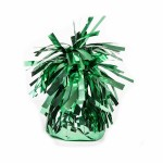 Green Foil Balloon Weights