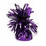 Purple Foil Balloon Weights