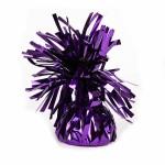 Purple Foil Balloon Weights