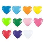 10″ Heart Latex Balloons