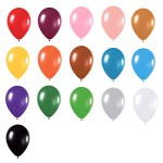 12″@2.8g Metallic Latex Balloons