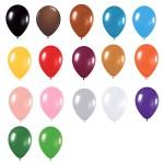 5″ Metallic Latex Balloons
