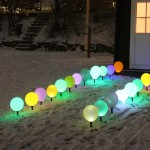 Balloon Holder With LED