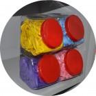 Stackable Balloon Storage Bins