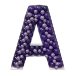 Letter A Mosaic Balloon Frame(100cm)