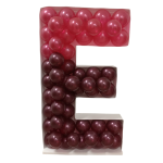 Letter E Mosaic Balloon Frame(100cm)