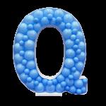 Letter Q Mosaic Balloon Frame(100cm)