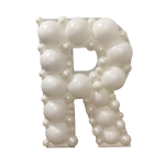 Letter R Mosaic Balloon Frame(100cm)
