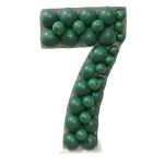Number 7 Mosaic Balloon Frame(120cm)