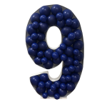 Number 9 Mosaic Balloon Frame(120cm)