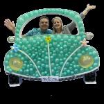 Beetle Mosaic Balloon Frame(125cm)
