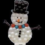 Snowman Mosaic Balloon Frame(120cm)