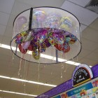 6ft White Mesh Balloon Corral