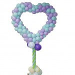 Heart Balloon Display Stand