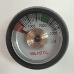 Gauge For Helium Gas Regulator