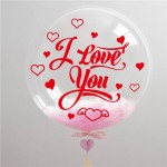 Bubble Balloon Sticker of Happy Birthday