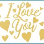 Bubble Balloon Sticker for LOVE&WEDDING