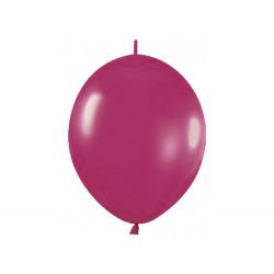 Link-o-loon balloon Burgundy, latex balloons