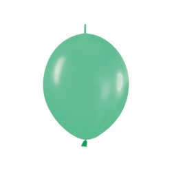Link-o-loon balloon green, latex balloons, decorating balloons