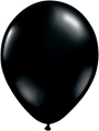 "12"" Black standard latex balloons"