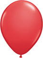 "12"" red standard latex balloons"