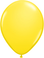 "12"" Yellow standard latex balloons"