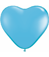 "12"" Heart latex balloons light blue, latex balloons, helium balloons, balloon acccessories"