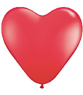 "12"" Heart latex balloons red, latex balloons, helium balloons"