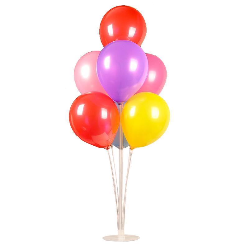 Balloon air display stand centerpiece