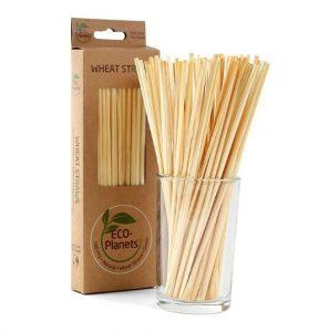 natural wheat straws