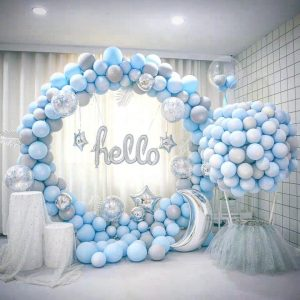 Balloon Circle Arch Metal Frame